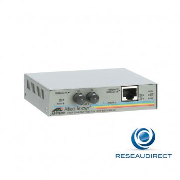 Allied Telesis AT-FS201-60 Bridge Ethernet 10/100mbs Rj45 10/100baseT - Fibre multimode 100BaseFX 1310nm 2xST 2Km