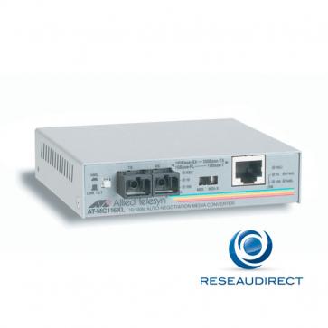 Allied Telesis AT-MC116XL-60 Bridge Ethernet 10/100mbs Rj45 10/100baseT - Fibre multimode 10BaseFL/100BaseSX 2xSC 2Km