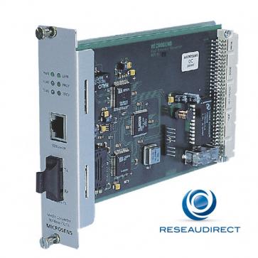 Microsens MS416107M-V2 Carte bridge 10/100Base-TX/100Base-FX connecteurs SC 1310nm Multimode pour châssis 19p
