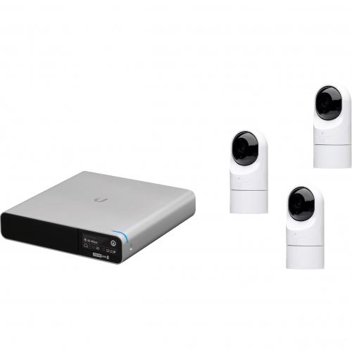 Kit 3 caméras Flex HD audio IR +NVR 1To