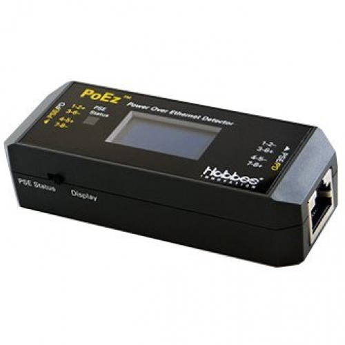 Hobbes POEz détecteur POE Testeur Power Over Ethernet avec écran  LCD compatible af/at/UPoE/bt ref 256318