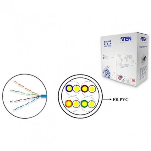 Aten 2L2801 câble U/UTP Cat 5e Multibrins PVC Low Skew 305m