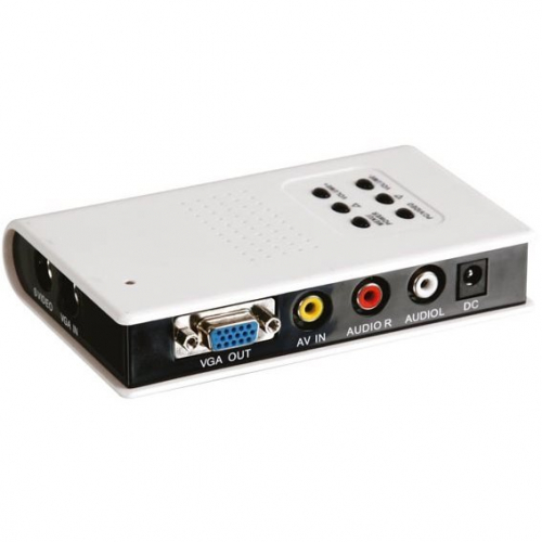 Convertisseur vidéo caméra analogique BNC vers VGA