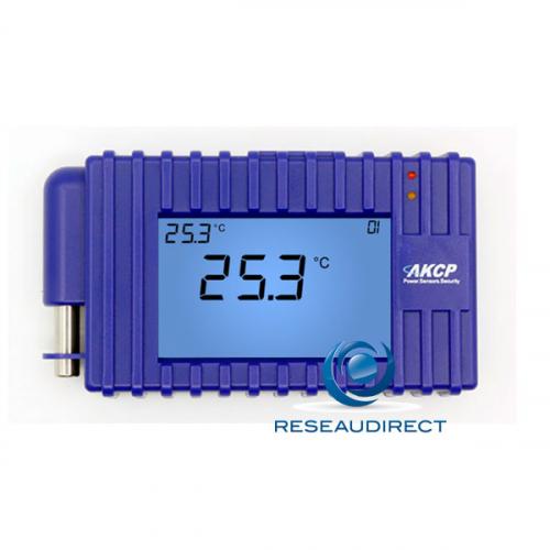 AKCP LCD-TMP Ecran LCD programmable avec capteur de température intégré pour SP2+ et SPX+