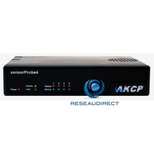 AKCP Sensorprobe4 SP4dTH01 Boitier IP SNMP NAGIOS Ethernet quatre ports capteur Température Humidité LG=30cm THS001 Déstockage 2 pièces