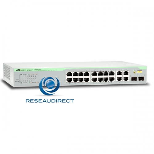 Allied Telesis AT-FS750/20 switch Fast Ethernet 16 10/100 Mbs 2 x 1G RJ45 4 giga SFP combo configurable Web Niveau 2