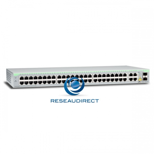 Allied Telesis AT-FS750/52 switch Fast Ethernet 48 10/100 Mbs 2 x 1G RJ45 2 giga SFP combo configurable Web Niveau 2
