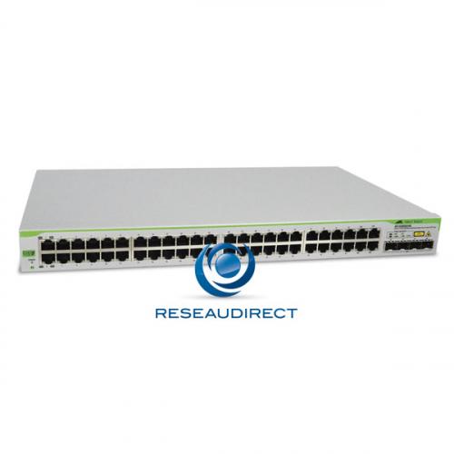 Allied Telesis AT-GS950/48 Commutateur Gigabit Ethernet 48 ports 10/100/1000 Mbs 2 giga SFP configurable Websmart Niveau 2