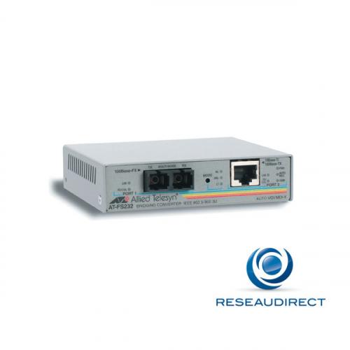 Allied Telesis AT-FS232-60 Bridge Ethernet Rj45 10/100baseT - Fibre multimode SML 100BaseFX 1310nm 2xSC 2Km