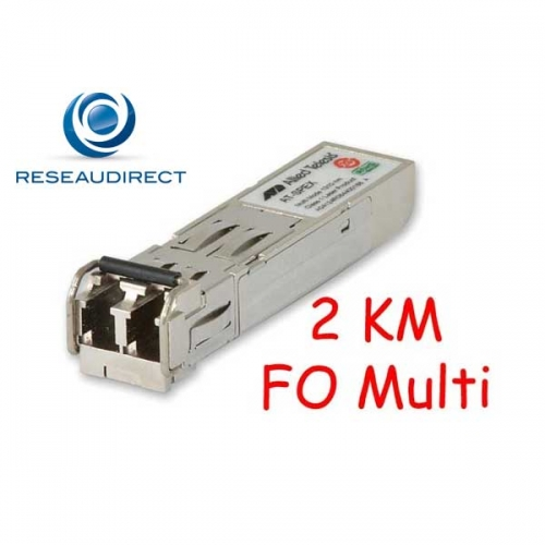 Allied Telesis AT-SPEX SFP Extender Gigabit 1000Base-EX Multimode 1310nm 1/2Km 2xLC DOM 0/+70°C