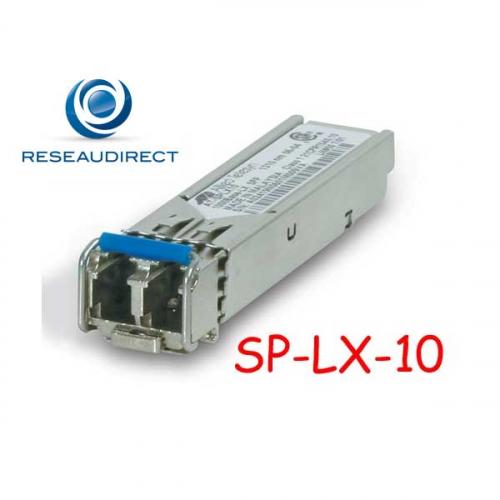 Allied Telesis AT-SPLX10 Module transceiver SFP 1000BaseLX émetteur Laser 1310 nm portée 10 km