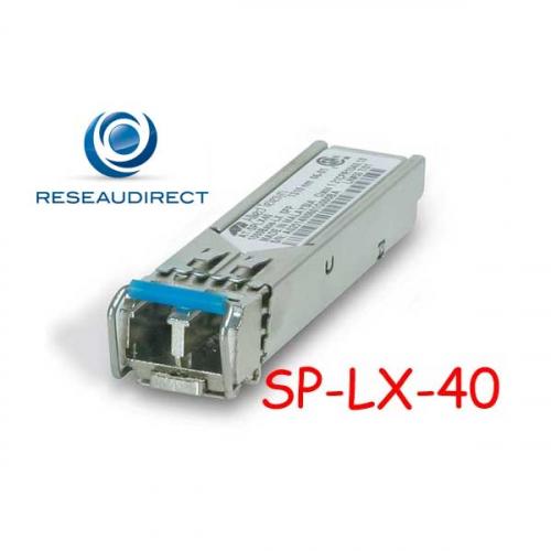 Allied Telesis AT-SPLX40 Module transceiver SFP 1000BaseLX émetteur Laser 1310 nm portée 40km