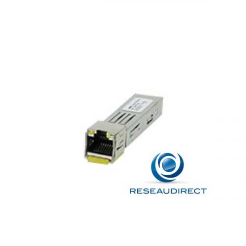Allied Telesis AT-SPTX Module transceiver SFP 1000BaseTX Gigabit Ethernet sur paire torsadée cuivre