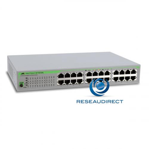 Allied Telesis AT-FS724L-50 Commutateur Fast Ethernet 24 ports Obsolète Remplacé par AT-FS710/24
