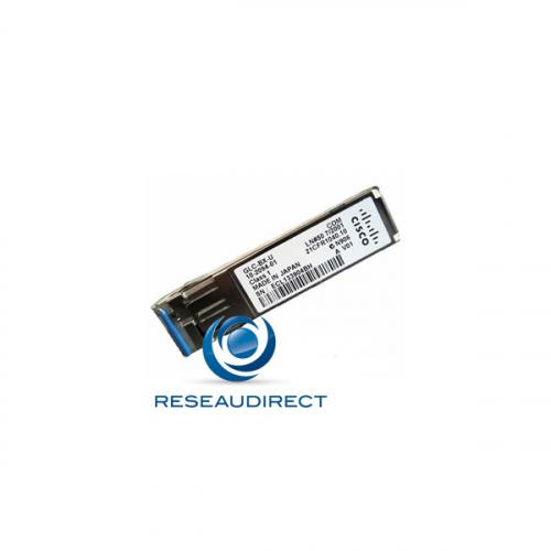 Cisco GLC-BX-U transceiver original SFP BIDI Gigabit Ethernet Optique Mono-mode Tx=1310 nm Rx=1490 nm 10km 1xLC DOM 0/+70°C