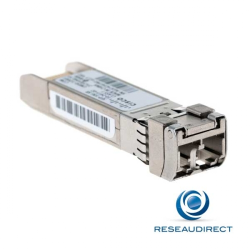 Cisco Module transceiver SFP+ 10GE 10GBase-SR 10Gigabit SFP-10G-SR Multimode 850nm 26m/300/400m 2xLC