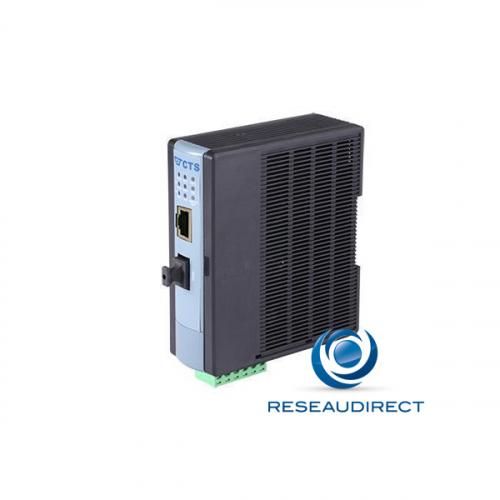 CTS WPC-2012SFP Bridge Industriel POE-Plus 30 watts Rj45 10/100baseT Fibre SFP vide pour 100BaseFX -20/+60°C