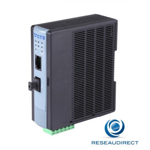 CTS WAC-3012 SFP Convertisseur de média Industriel Gigabit Ethernet avec SFP vide RJ45 10/100/1000 base T -20 /+60°C