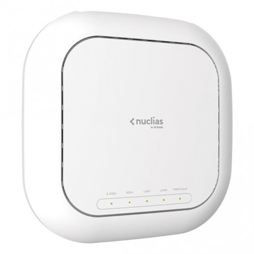 Dlink DBA-2820P Point d'accès Managé AP Wifi Cloud Nuclias AC2600 Wave-2 PoE at Licence 1 An comprise