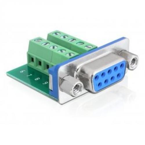 Adaptateur DB9 F > terminal block