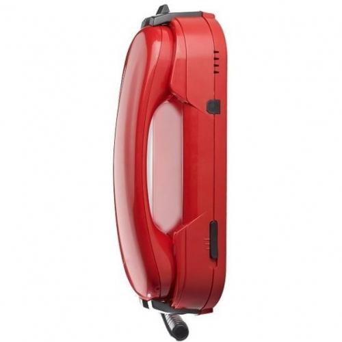 Téléphone d'urgence HD2000 sans clavier rouge