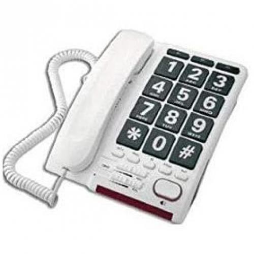 Téléphone analogique HD Max Ampli Perle