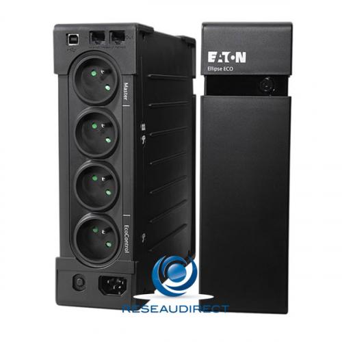 Eaton MGE EL1200USBFR Onduleur OFFLINE compact Ellipse ECO 1200 FR USB PC économie energie 750 Watts - 1200 VA