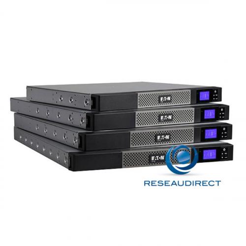Eaton MGE 5P1150IR Onduleur 5P 1150VA 770 Watts format Rack line interactive haut rendement écran LCD