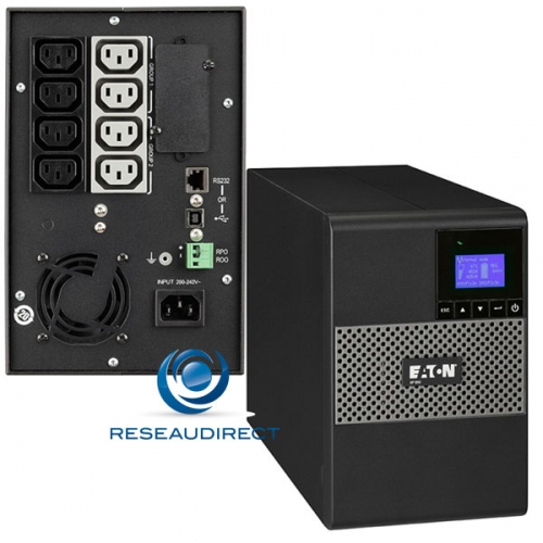 Eaton MGE 5P1150I Onduleur 5P 1150VA 770 Watts format Tour line interactive haut rendement écran LCD