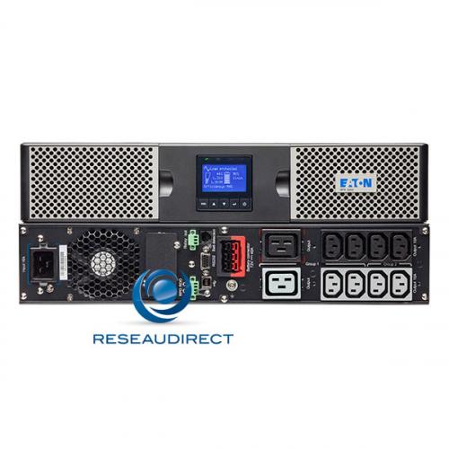 Eaton MGE 9PX1000IRT2U Onduleur 1/1 online 1000VA 1000Watts 9PX 1000i RT2U mono-mono 220V IEC écran LCD