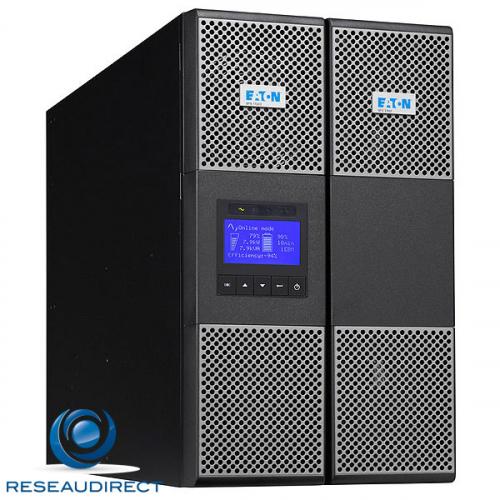 Eaton MGE 9PX11KIBP Onduleur 9PX 11000VA 10 KWatts mono 220V vers mono 220V Compact Hotswap écran LCD