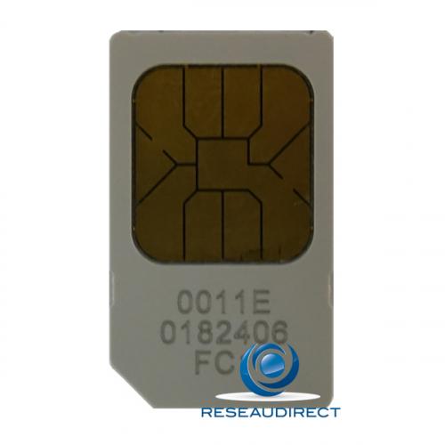 Funktel Carte Mémoire SIM pour DECT Funkwerk variantes téléphones D4 FC4 D11 FC11 Ref 5900272583