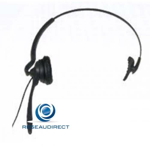 Funktel casque léger pour FC4 et FC4 EX HS sauf Funkwerk FC4 Ex / FC4 S Ex / FC4 L Ex Ref 5010105101