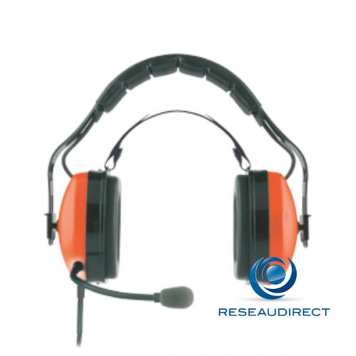 Funktel casque lourd Atex Ceotronics NR 0205038 Casque PTT Ex-Headset agréé FC4 EX HS 50mW Ref 4998094707