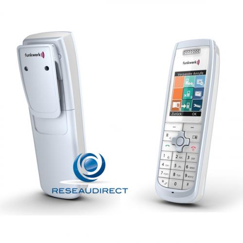 z Funktel D11 Office Set Grey Téléphone DECT Obsolète remplacé par le modèle couleur noire