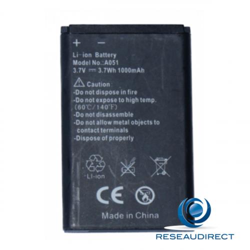 Funktel Batterie pour téléphone combiné DECT D11 et FC11 Funkwerk Lithium Ion 1000 mAh Ref 5010777000