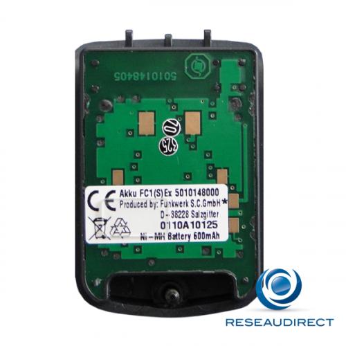 Funktel Batterie pour téléphone FC1 Atex FC1 Ex et S Ex version II NI-MH 600 mAh capot à vis Torx Ref Funkwerk 5010148000