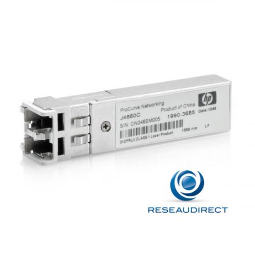 HP Module SFP GE 1000Base-LH 1000Mbs Monomode 1550nm 70km 2xLC