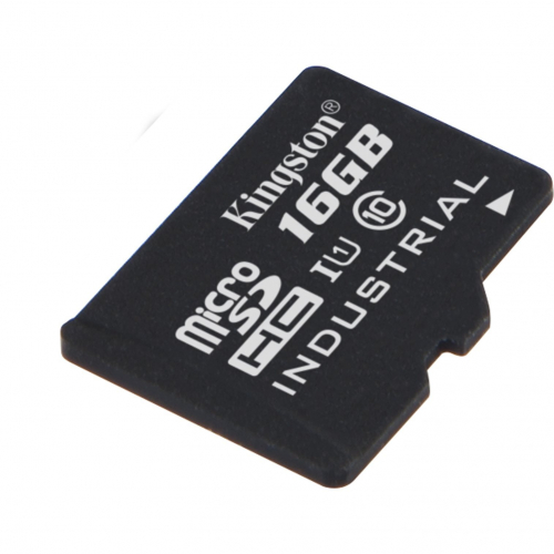 Carte Micro SDHC industrielle UHS-I 16GB -40/+85°C