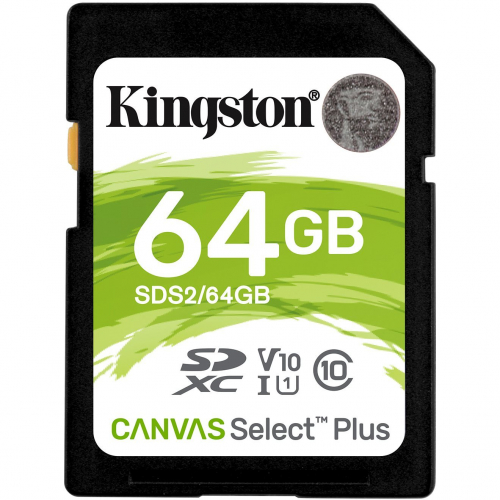 Carte Micro SDHC Canvas Select Plus 64Gb