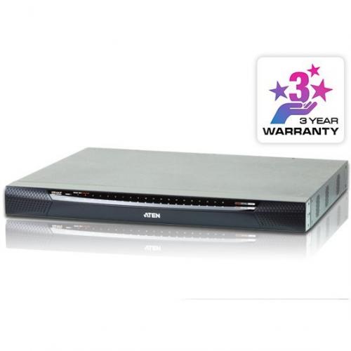 Commutateur KVM IP 40 ports 3 voies CAT5e Audio VM
