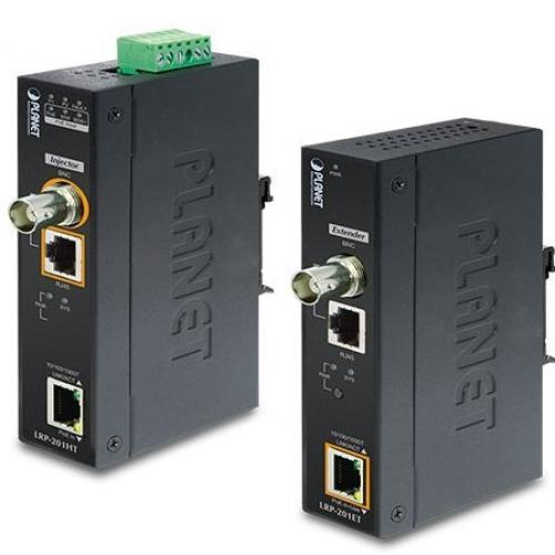 Kit déport industriel LRP PoE over Ethernet