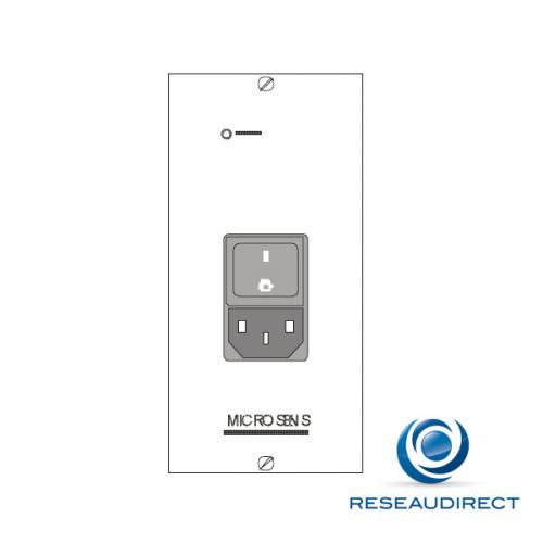 Microsens MS416004M Alimentation pour MS416001/10 230VAC 50Hz/90VA redondance possible