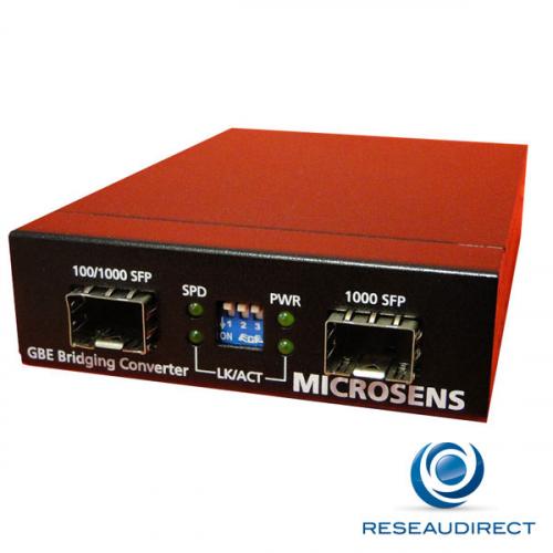 Microsens MS400230 Bridge Convertisseur SFP / SFP remplacé par MS400234