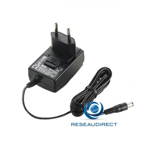 Moxa Nport 5100-ALM Bloc alimentation électrique externe 12V 0.5A pour Nport 5110-5130-5150 ( PWR-12050-WPEU-S2 )