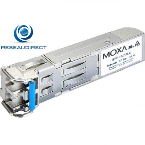 Moxa SFP-1GEZXLC  module transceiver SFP 1000 Gbase EZX LC duplex portée 110Km sur fibre mono 9/125