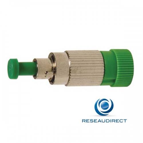 Netkea NTK09FCAATT005 Atténuateur fibre optique OS2 FC APC 5 dB Mâle/Femelle monomode 9/125 atténuation 1310nm et 1550nm