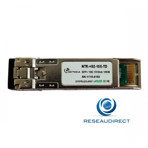 Arista Transceiver SFP+ 10Gb/s Compatible SFP-10G-LR-AR Mono-mode 1310nm 10 km 2xLC DOM -40/+85°C