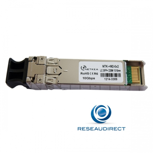 Arista Transceiver SFP+ 10Gb/s Compatible SFP-10G-LRM-AR Multi-mode 1310nm 220m 2xLC DOM 0/+70°C