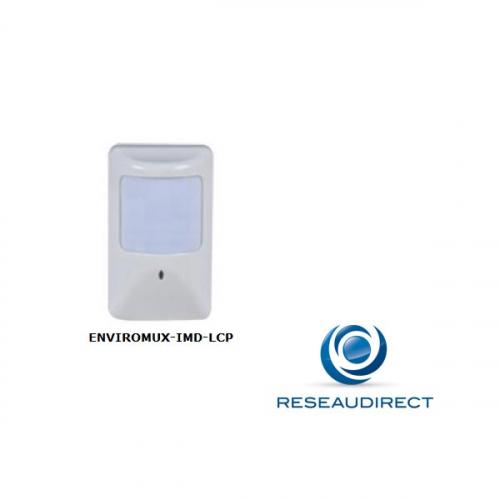 NTI Détecteur de mouvement infrarouge Low Cost 12m x 12m Angle 110° pour Enviromux Micro Promo 2 pièces